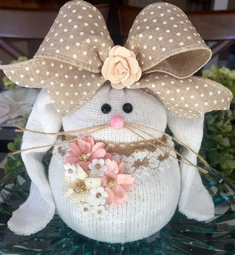 How To Make Sock Bunnies - Crafty Morning