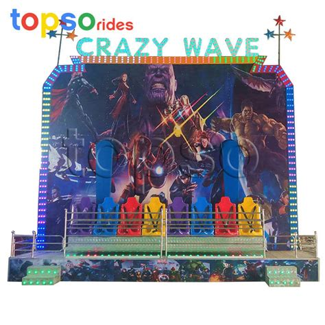 Heightened Crazy Wave Ride For Sale | topsamusementrides