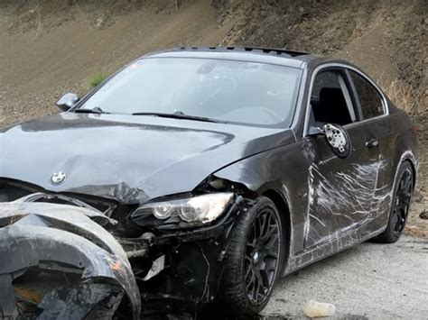 BMW 3 series hard crash in the canyons – Video   DPCcars