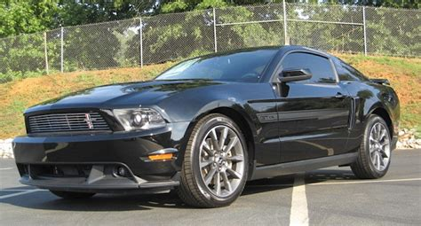 Black 2011 Ford Mustang GT California Special