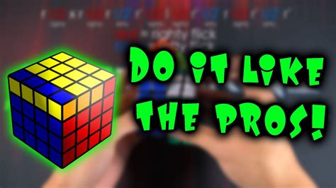 How to Execute 4x4 OLL Parity Like a Pro - YouTube