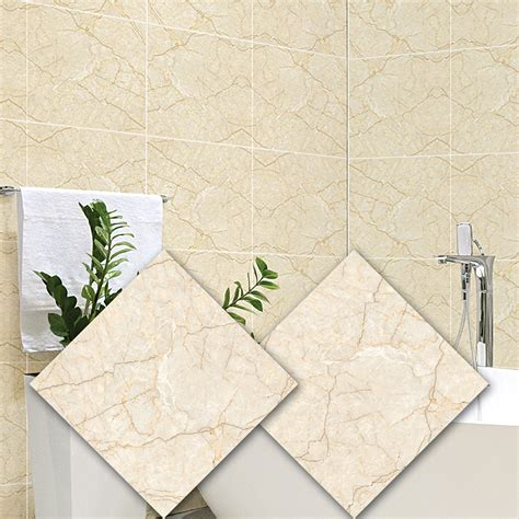 2PCS Wall Tile Stickers Waterproof Peel and Stick Stickers