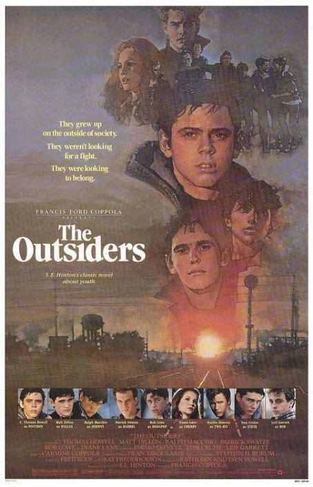 Movie or Book Cover - The Outsiders Photo (8576871) - Fanpop