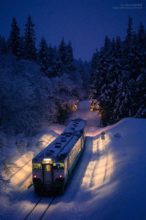 train, Night, Winter Wallpapers HD / Desktop and Mobile