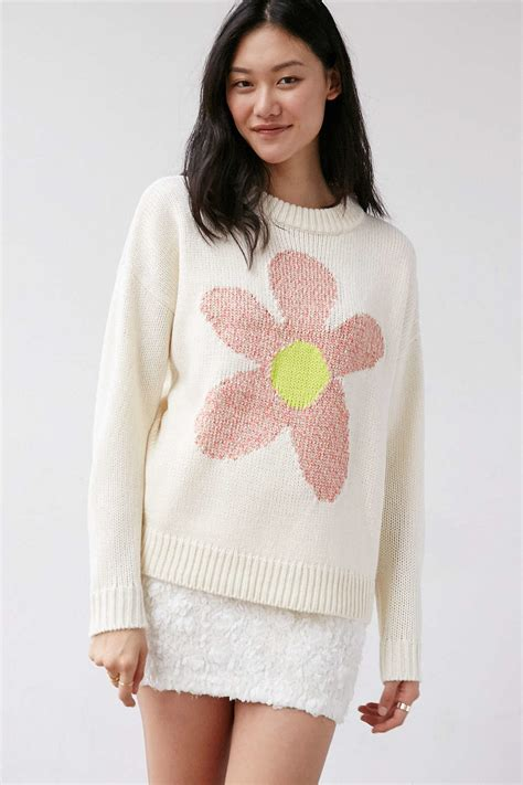 Lyst - Cooperative Daisy Oversized Pullover Sweater