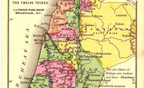 GLEANINGS IN HEBREW: The 12 Tribes of Israel