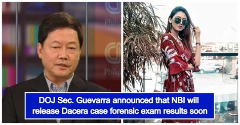 NBI finishes forensic exam in Dacera case; results to be