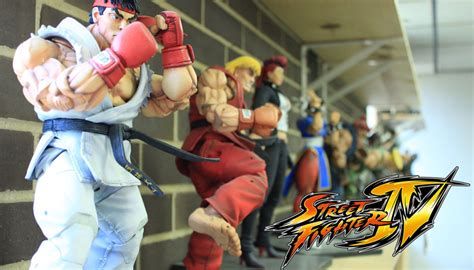Street Fighter IV (4) Collectible Action Figures by NECA