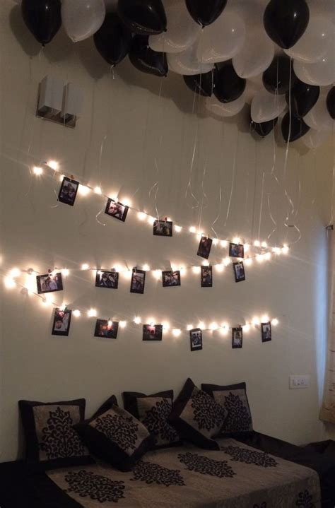 Birthday surprise for brother :) | Birthday room