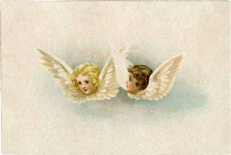 Free Vintage Angels Clip Art - Sweet! - The Graphics Fairy