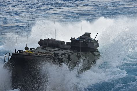 1 Marine Dead, 8 More Missing After AAV Accident Off