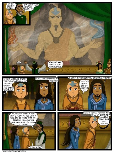 The First Date - Avatar: The Last Airbender Fan Art