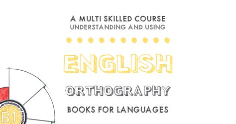 Diphthongs | English Orthography B1 Level