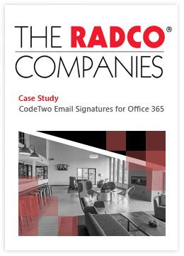 CodeTwo Email Signatures for Office 365 - Case Study by
