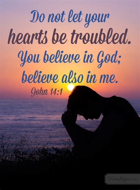 Do Not Let Your Heart Be Troubled   John 14:1