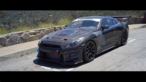 This Dry-Carbon R35 Nissan GT-R Is the Pinnacle of