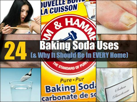 24 Baking Soda Uses - Genius Ways to Include It in Your