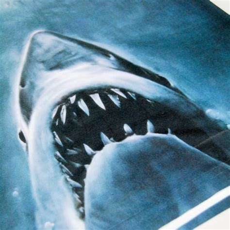 Mens Jaws Movie Poster Sublimation Print T Shirt – Buy