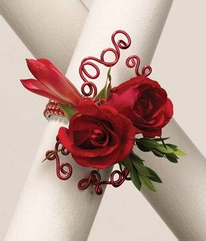 Roses 'n Wires Wrist Corsage at From You Flowers