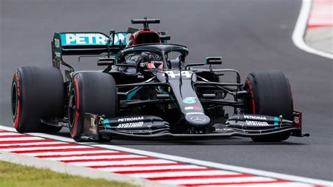 Lewis Hamilton leads Mercedes one-two in Hungarian GP