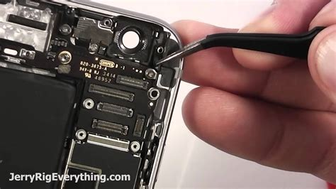 iPhone 6 Plus Rear Camera Replacement in 3 Minutes - YouTube