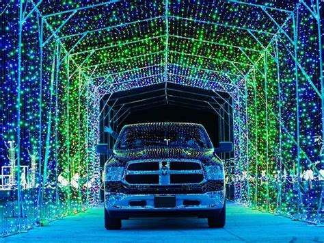 Here's where you can see drive-through Christmas lights in