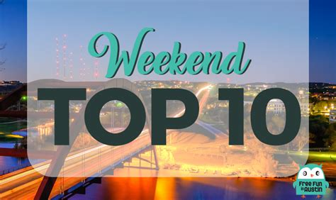 Weekend Top 10 Free Events December 20 through 22, 2019