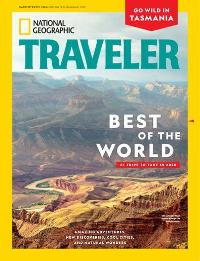 National Geographic Traveler Interactive Digital Subscription