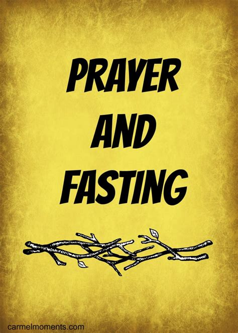Prayer and Fasting - Gather for Bread