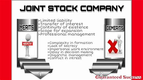 🎉 Demerits of joint stock company
