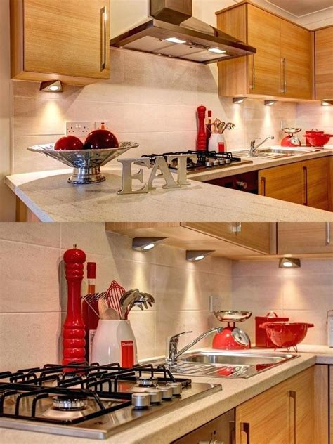 Pin by Phindi Simelane on Room inspo   Red kitchen decor
