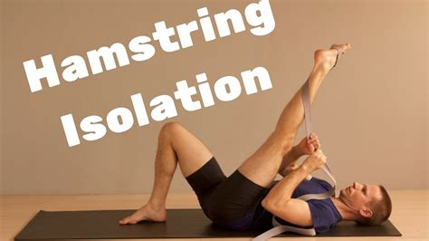 Open All Three Hamstrings and Attachments - Active