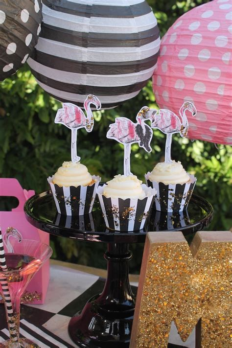 Kara's Party Ideas Fancy Flamingo Mother's Day Party