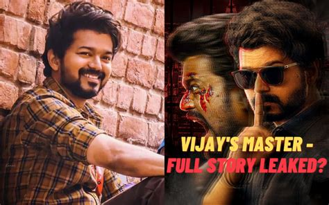 Master's Full Story Leaked; Thalapathy Fans Are Shocked