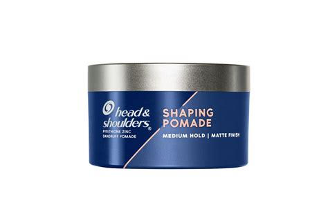 Head and Shoulders Shaping Pomade for Men, Matte Finish