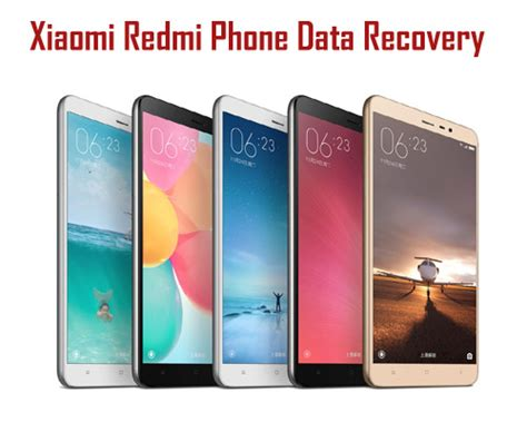 How to Recover Deleted Data From Xiaomi Redmi Phones