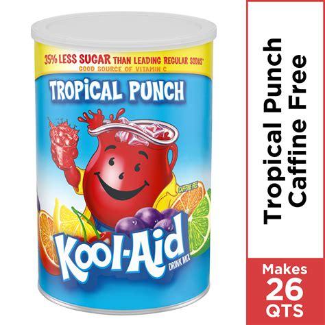 Kool-Aid Artificially Flavored Tropical Punch Powder Drink