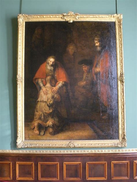 Rembrandt at the Hermitage: The Return of the Prodigal Son