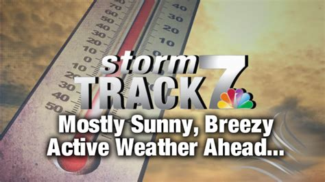 TRACKING: Warmer temperatures; Rain chances this weekend
