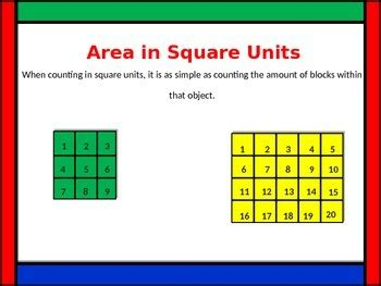 Area and Perimeter powerpoint 4th grade by MrJacksBackPack