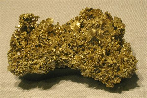 Gold State Mineral   State Symbols USA