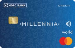 HDFC Millennia Credit Card Review - Benefits & Features