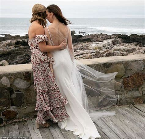 Babara Bush gets married in a surprise ceremony in Maine